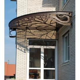 Козирок кований металевий для будівельників комерційних будівель Legran