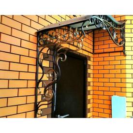 Навес с коваными элементами для новостроек Киев Legran
