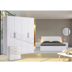 Спальня 4Д белый глянец Фемели Миро-Марк