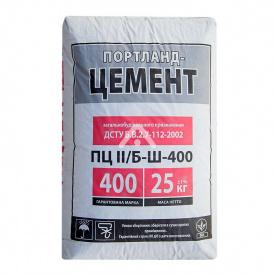 Портландцемент ПЦ ІІ/Б-К (Ш-В-П)-400Р-Н 25 кг