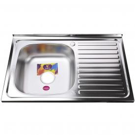 Мойка кухонная Mira MR 8050 L E Satin Left