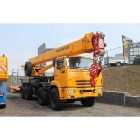 Автокран до 40 тонн Камаз