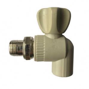 Кран радиаторный угловой Kalde PPR ф25x1/2 22014