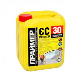 Пластификатор противоморозный ускоритель твердения Праймер ЕС-30 10 л