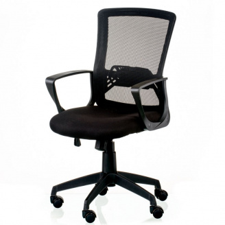 Офісне крісло Admit Black Special4You чорна сітка