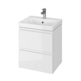 CET B10 MODUO шкафчик с умывальником MODUO 50 белый