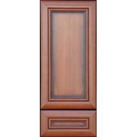 Рамочный мдф фасад лакированный с патиной Классик Вишня Портофино