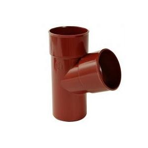 Трійник 67° Nicoll 25 ПРЕМІУМ 80 мм червоний