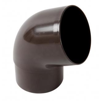 Відвід Nicoll 33 67° 100 мм коричневий
