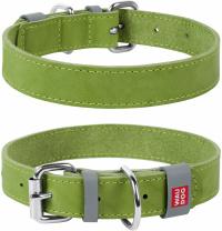 Ошейник Collar Waudog Classic 46-60 см 35 мм Салатовый (2395)