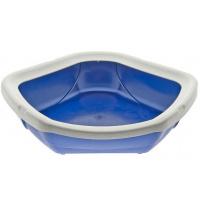 Туалет для котов MPS Spa Corner Open 52x50x14 см Blue