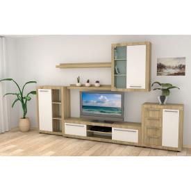 Модульная мебель в гостиную Компанит МГ-1 дсп дуб-сонома-комби
