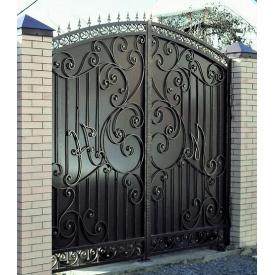 Кованые ворота закрытие Б0025зк Legran