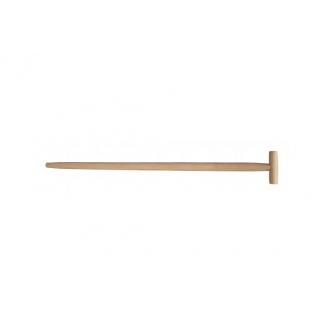 Держак для лопати з Т-подібною ручкою 1м вищий сорт (Україна) ВІСТ