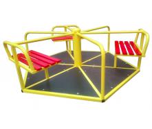 Карусель дитяча Dali 601-кр 700х1550 мм шестимісна для вулиці
