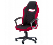 Геймерське комп`ютерне крісло Riko Special4You тканину Black / Red