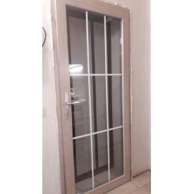 Металопластикові міжкімнатні двері Віконда 60 мм Класик Дуб Шеффілд