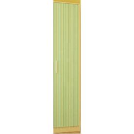 Шкаф Симба 1Д береза/зеленый Мебель-Сервис