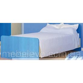 Дитяче ліжко Сімба 900 береза / синій Меблі-Сервіс