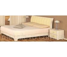 Ліжко двоспальне Токіо ясен світлий Меблі-Сервіс