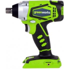 Гайковерт ударный аккумуляторный Greenworks G24IW без АКБ и ЗУ (3801207)