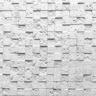 Плитка гипсовая Корсика 00 прямая 90x320x20 мм белая