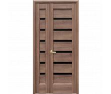 Межкомнатная дверь NS Линнея BLK Новый Стиль Двустворчатая