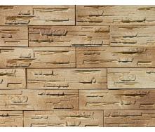 Декоративная гипсовая плитка Афина 002 с напылением 0,58 м коричневая