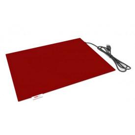 Коврик Lappo с подогревом USB, 32х26 см. Цвет бордовый
