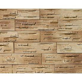 Декоративна гіпсова плитка Афіна 002 з напиленням 0,58 м коричнева