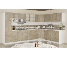 Кухня Аліна 2,0 м зі стільницею Мармур темний Меблі-Сервіс