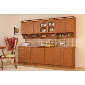 Кухня Корона 2,0 м зі стільницею яблуня Меблі-Сервіс