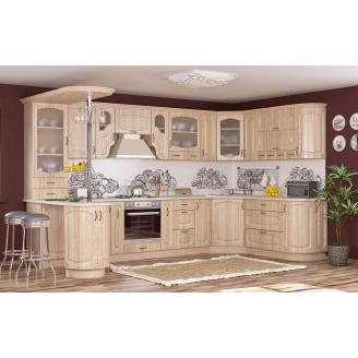 Кухня Паула 2,0 м со столешницей береза Мебель-Сервис