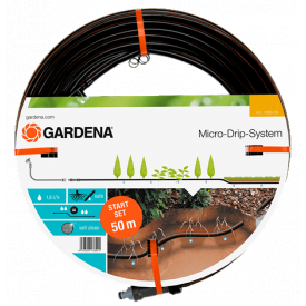 Шланг сочащийся Gardena 1,6л/час (01389-20,000,00)