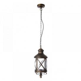 Светильник уличный подвесной Brille GL-102 C BK/G (34-064)