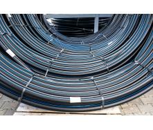 Труба для води 50мм Планета Пластик SDR 13,6 поліетиленова для холодного водопостачання