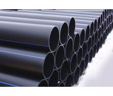 Труба для води 125 мм Планета Пластик SDR 17 поліетиленова для холодного водопостачання