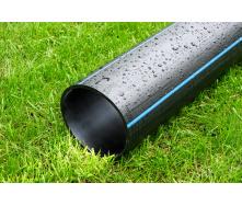 Труба для воды 250 мм Планета Пластик SDR 17 полиэтиленовая для холодного водоснабжения