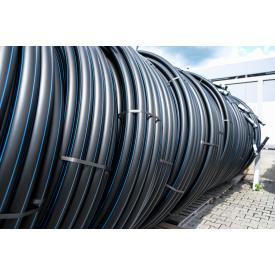 Труба для воды 110 мм Планета Пластик SDR 17 полиэтиленовая для холодного водоснабжения