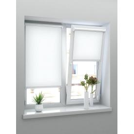 Тканинні ролети Віконт білий 500х1400х1800 мм