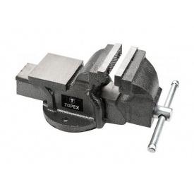 Тиски Topex слесарные 100 мм 07A110