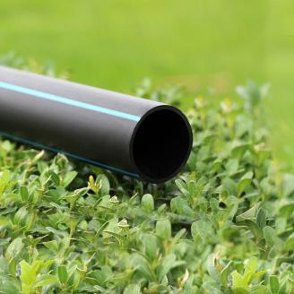 Труба для води 75 мм Планета Пластик SDR 21 поліетиленова для холодного водопостачання 75х3,6 мм