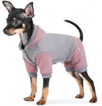 Костюм для собак Природа Рикки M Серый