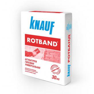 Ротбанд Knauf штукатурка гіпсова (30кг)