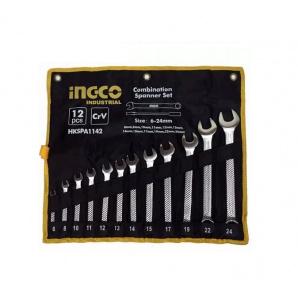 Комплект ключей гаечных INGCO HKSPA1142 12 шт