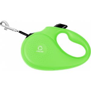 Поводок-рулетка Collar XS для собак до 12 кг 3 м Салатовый