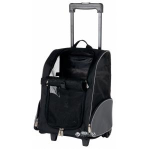 Сумка-переноска Trixie Trolley 36x50x27 см до 8 кг Черная