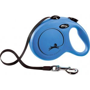 Поводок-рулетка Flexi Classic L 5 м Синий