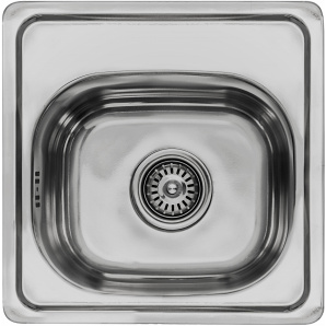 Кухонная мойка LEMAX 380x380x160 0,6 мм хром (LE-5013 CH)