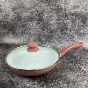 Сковорода Lessner Ceramic Line алюминиевая керамика 24 см 88356 24 mix